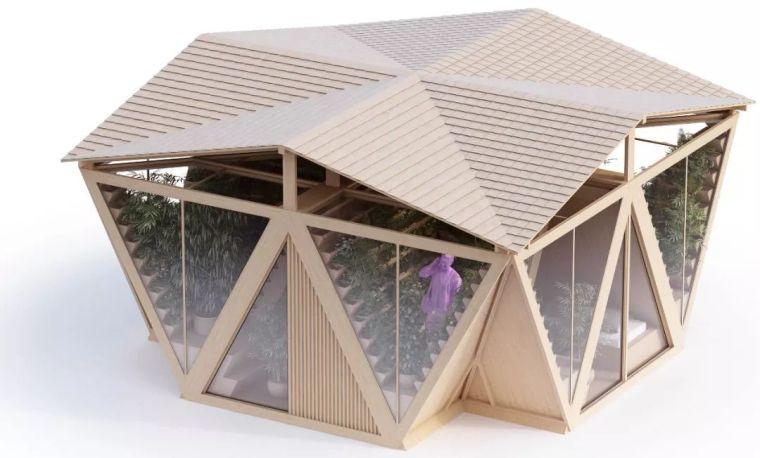 拥有独立生态系统的大楼-城市中的垂直农场_16