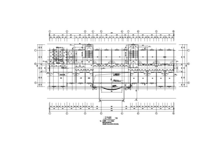 惠安净峰医院综合楼室内装修设计施工图(15张)