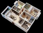 现代餐饮店3D模型下载资料免费下载