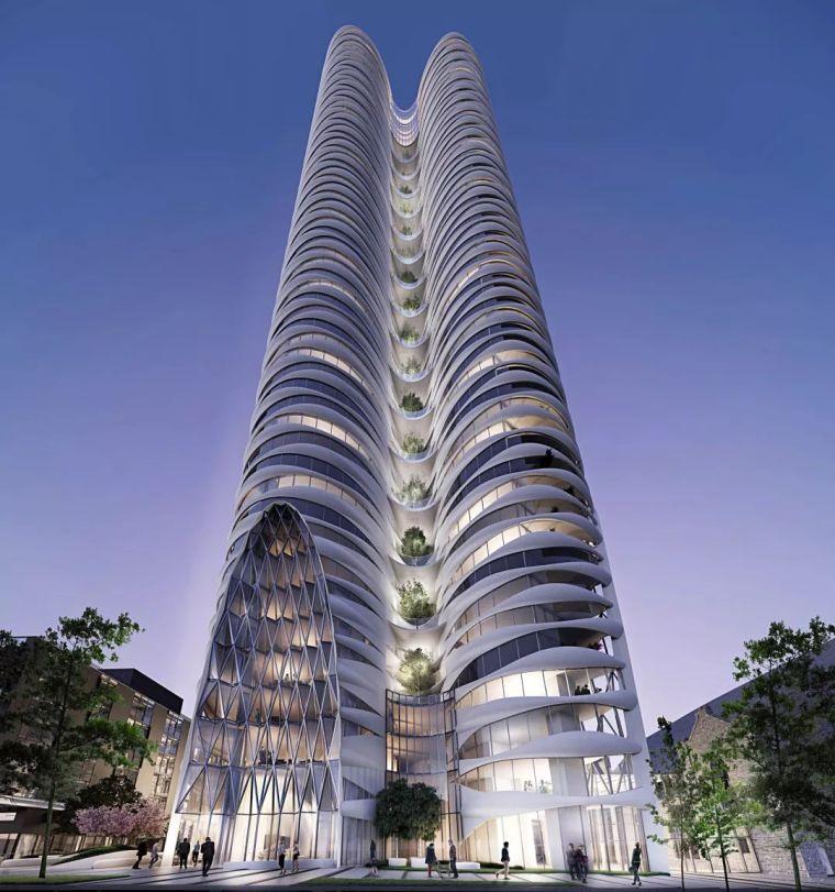 华裔建筑大师设计的高层豪宅,美得让人窒息!