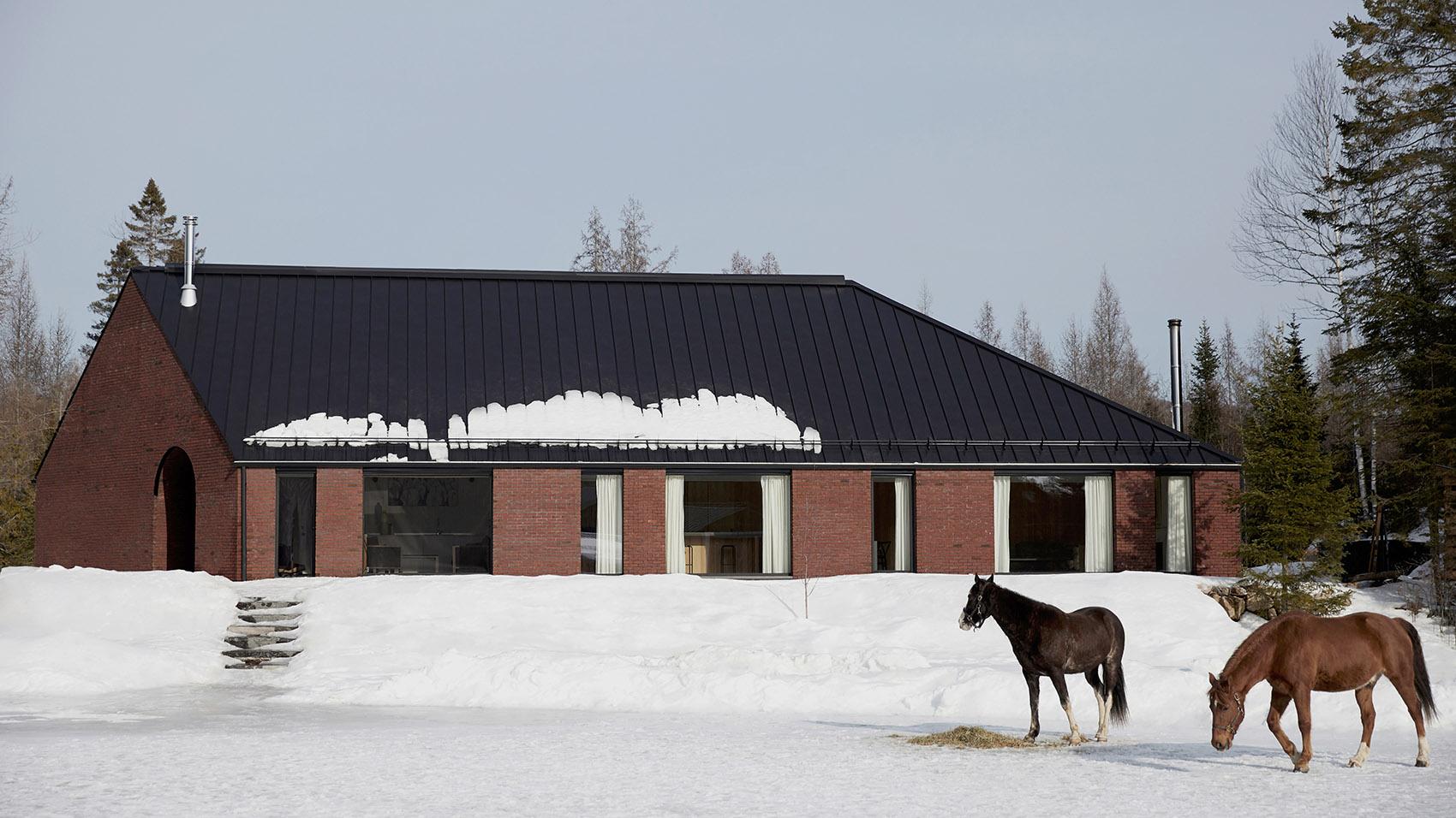 加拿大有组织和感性体验Gauthier住宅