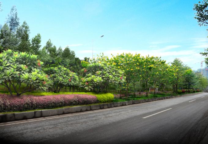 """[广东]""""源代码""""科技创意生态道路景观改造设计方案_9"""