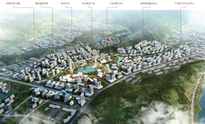 [四川]山水宜居特色临港经济开发区城市规划设计方案_2