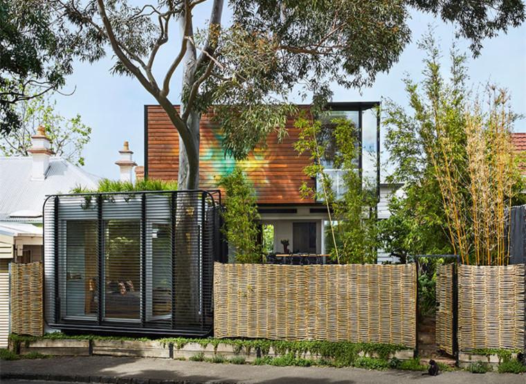 澳大利亚现代私密住宅