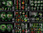 cad建筑施工图绘制资料免费下载