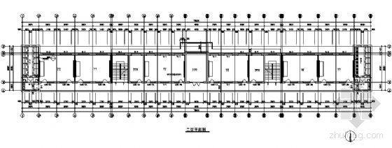某三层教学楼建筑施工图-3