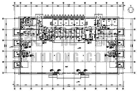 北京某项目售楼处空调设计图