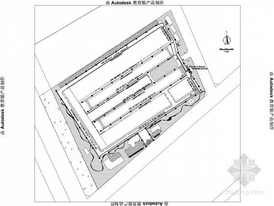 [新疆]大型厂区照明配电施工图纸