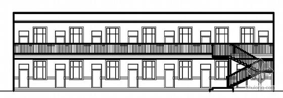 [延长县]某派出所办公楼建筑施工图(带模型文件)