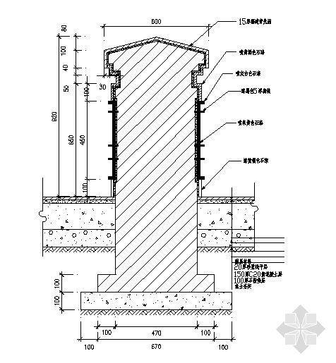 栏杆详图-2
