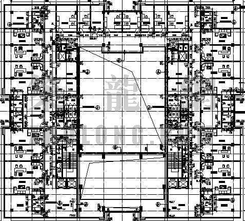 某办公楼平面设计方案