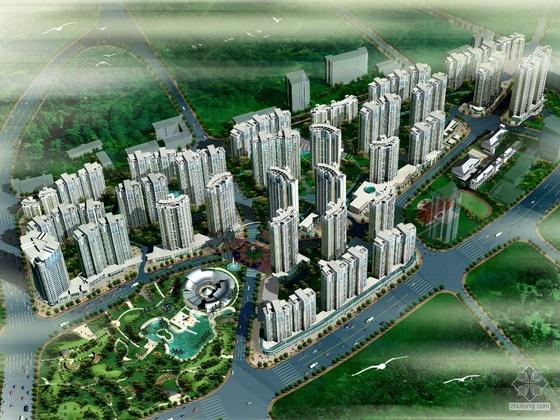 [中兴城]某城市空间商业街CAD方案及规划设计文本(A0、A1、A3及CAD)