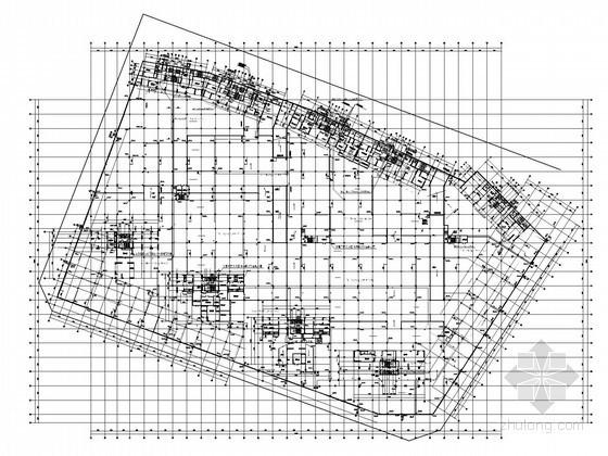 [广东]17万平商住楼小区给排水施工图纸