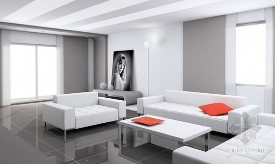 家庭居室装饰装修工程施工合同(7页)