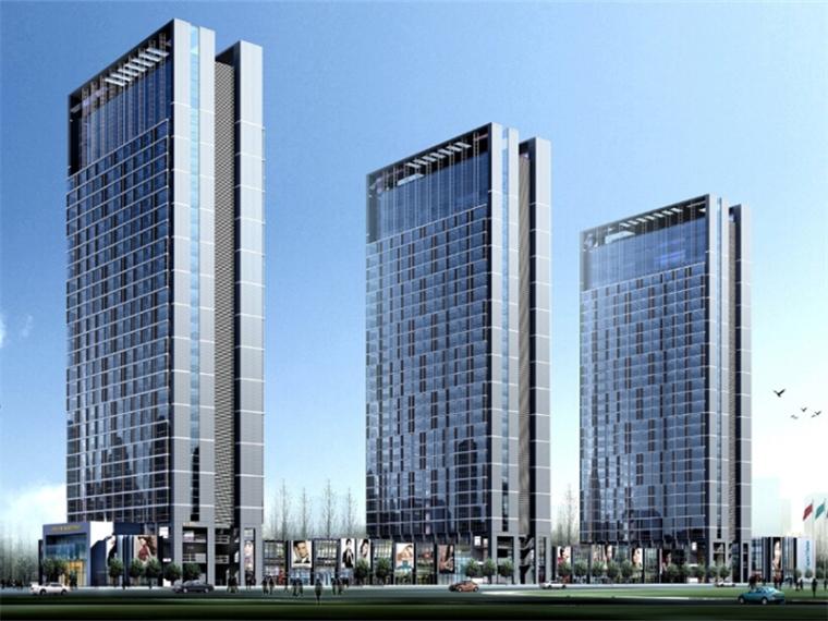 现代感公寓资料下载-[江苏]大型现代感青年公寓设计方案文本