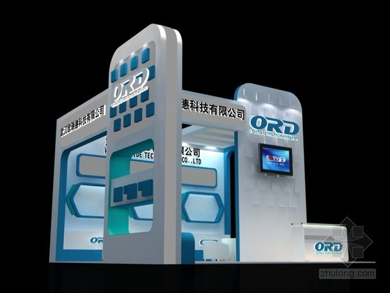 科技产品展示3D模型下载