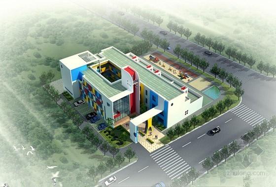 [湖南]3层幼儿园建筑安装工程量清单计价实例(含全套图纸)