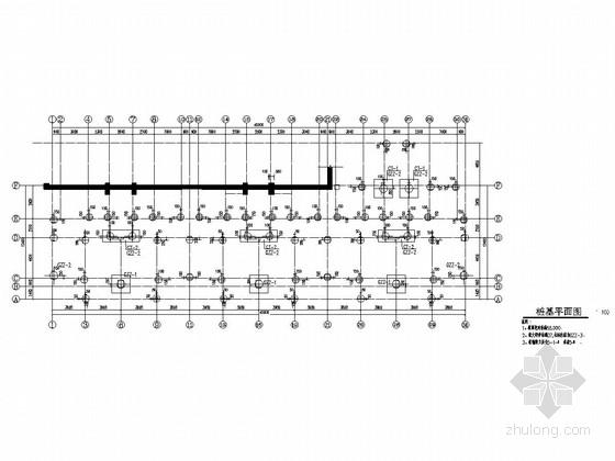 [山东]地上六层框架结构住宅楼结构施工图(坡屋顶)