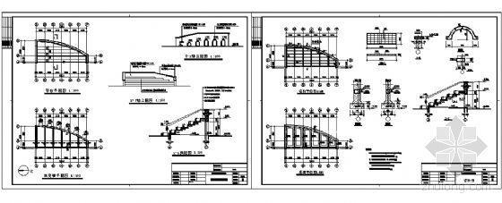 看台建筑结构详图-4