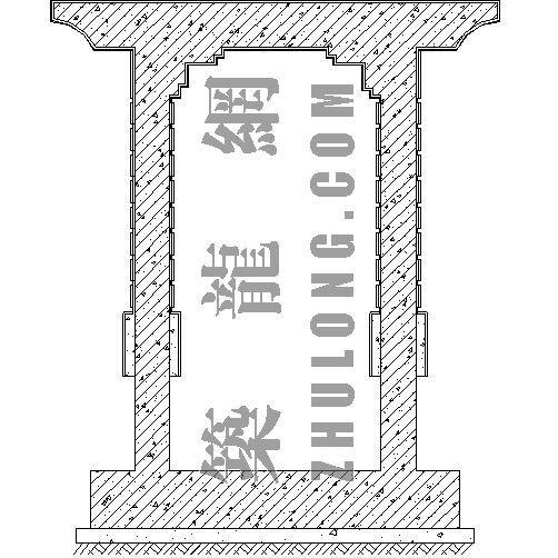 景门施工详图