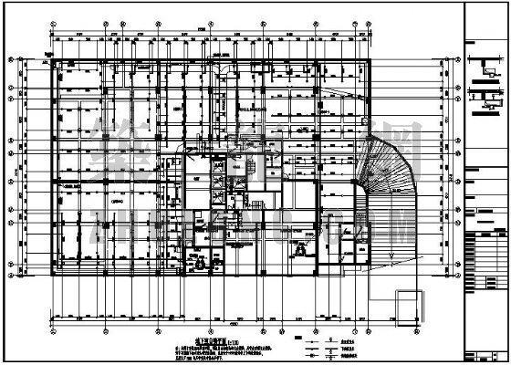某高级酒店地下室给排水消防设计图