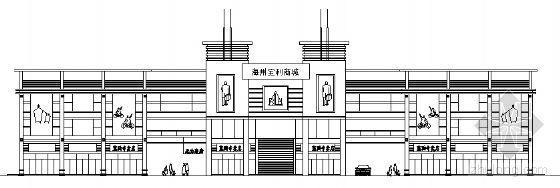 [江苏]某大型商城建筑设计方案文本(带CAD方案)