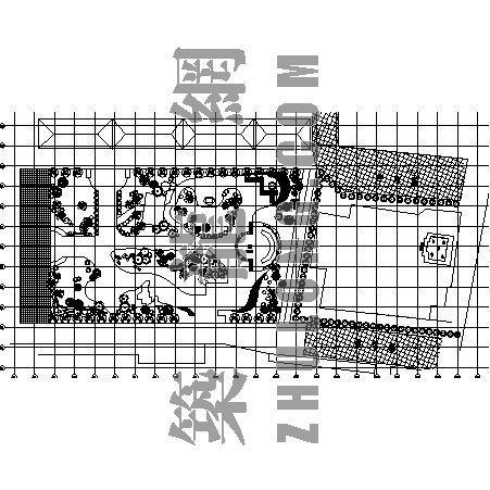 五塔寺遗址公园植物配植图