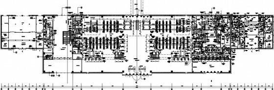 [海南]火车站空调通风设计施工图纸(系统图,大样图)