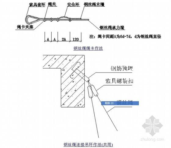 [广东]高层商住小区型钢悬挑外脚手架施工方案
