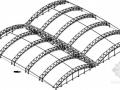 [黑龍江]采光頂管桁架結構施工圖