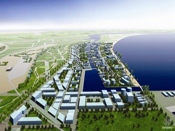 [海口]某西海岸外滩城市设计资料(含精彩视频)(竞赛)-(美国爱普斯顿)