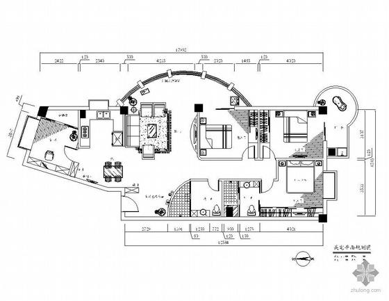 [厦门]四居室设计图