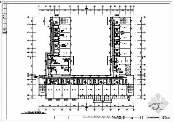 某招待所中央空调设计成套图纸