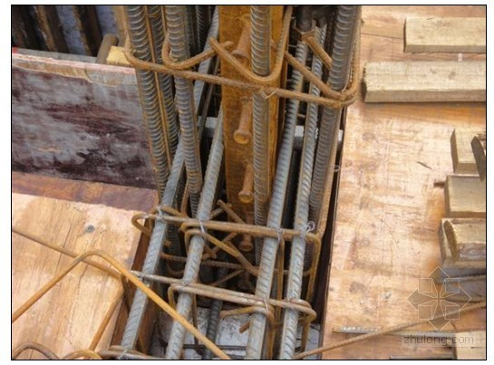 劲性混凝土结构钢(管)与钢筋的连接施工工艺