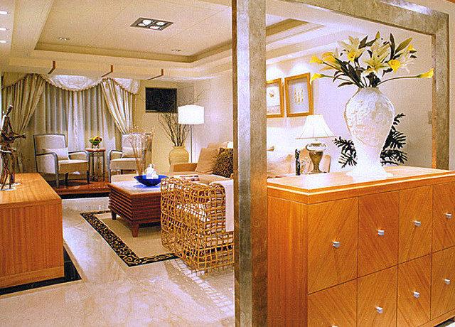 92平方米新古典二房二厅客厅装修效果图_3