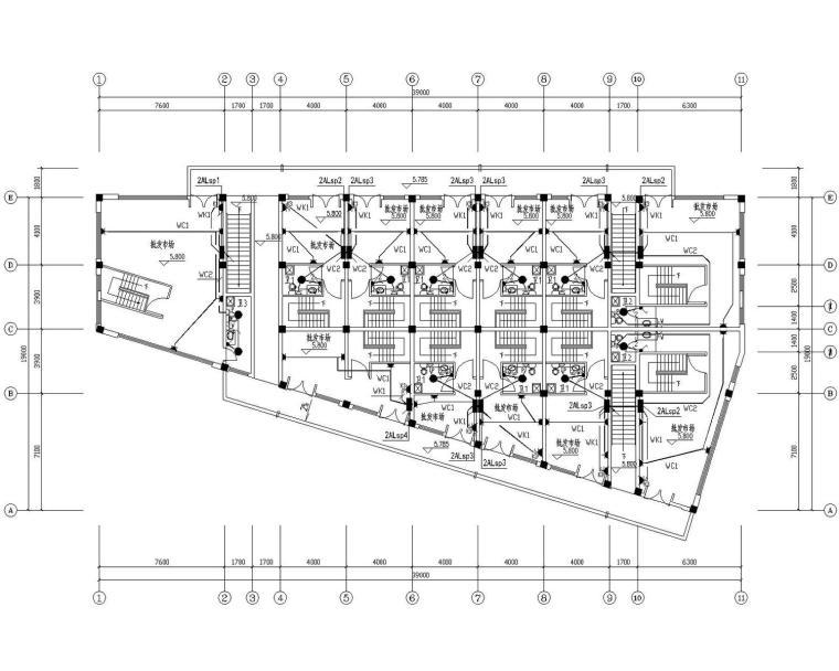 [安徽]二层小市场电气施工图(大院最新设计)