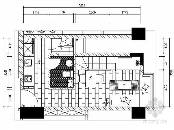 62平米小户型样板房施工图