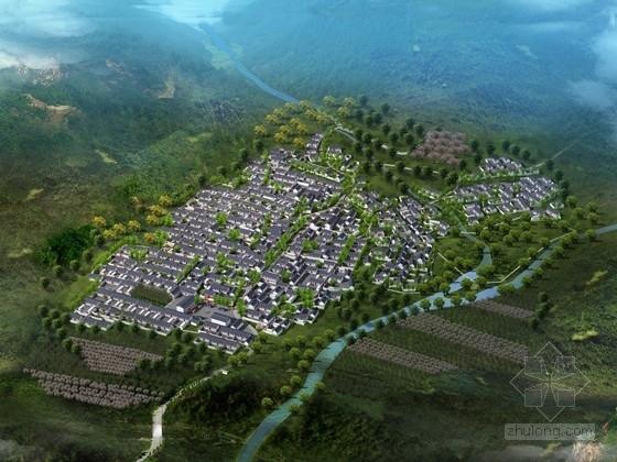 [河北]独具生态魅力型村庄景观规划设计方案(含Word文档)