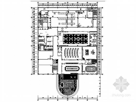 [原创]工厂办公室方案设计施工图