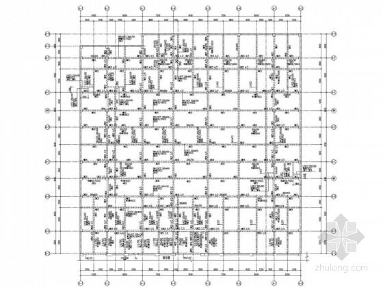 二层框架农贸市场结构施工图