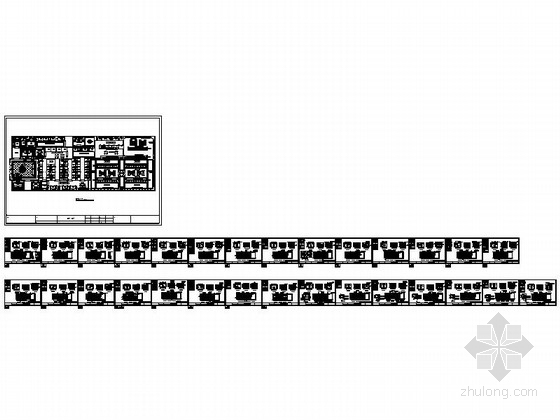 148平国际知名现代化企业陶瓷专卖店样板间设计装修图资料图纸总缩略图