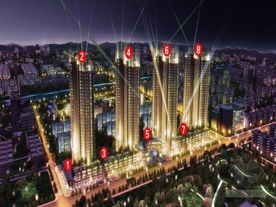 [江苏]超高层商业广场工程监理大纲(4幢34层建筑 附流程图)