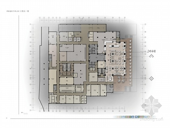 [西藏]恬静优美藏式民族特色度假酒店设计方案(含效果图)