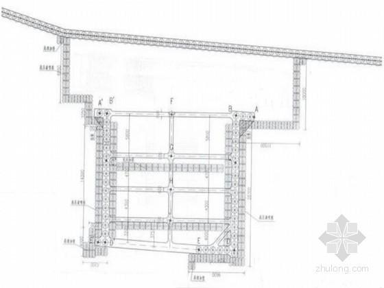 [江苏]地下通道基坑排桩支护及土方开挖降水施工方案