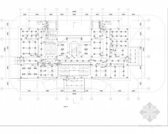 [四川]中心卫生院强弱电施工图50张(综合楼 动力站)