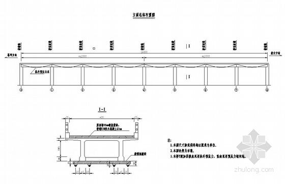 [辽宁] 20米T梁大桥体外预应力加固设计图纸