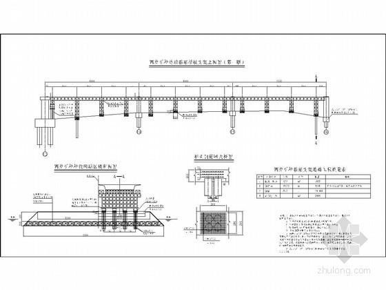 [广西]大桥承台套箱及箱梁现浇支架方案(附19张CAD图)