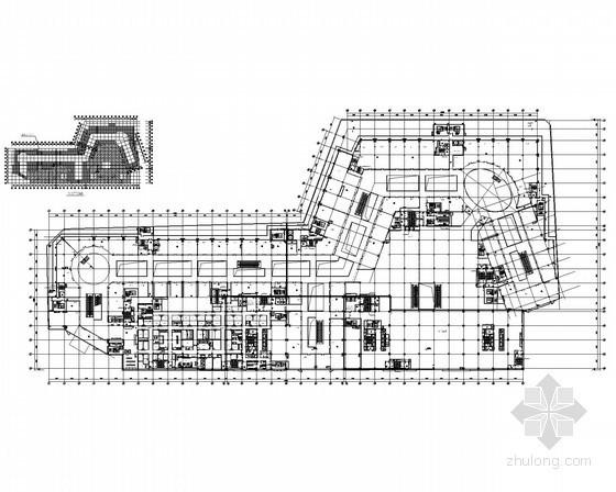 [宁夏]城市标志商业综合体电气施工图纸(精品设计模板)