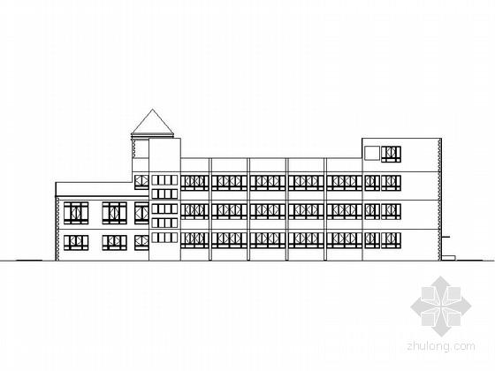 [江苏]三层框架结构12班幼儿园建筑施工图
