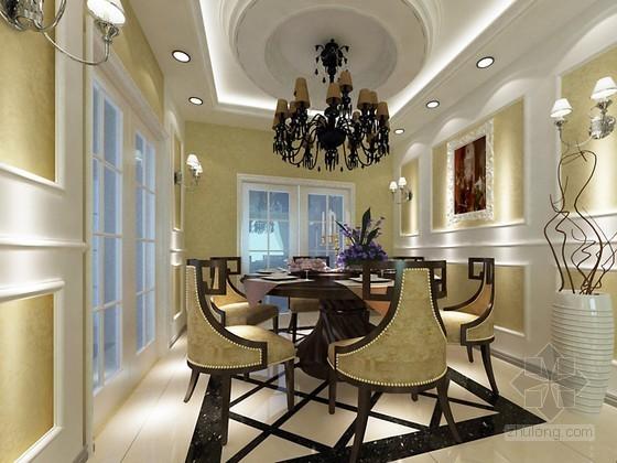 现代欧式客厅